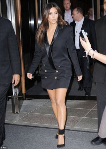 Inspired by Kim Kardashian blazer dress