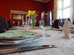 Spring easter lunch 1
