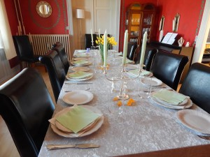 Spring easter lunch 3