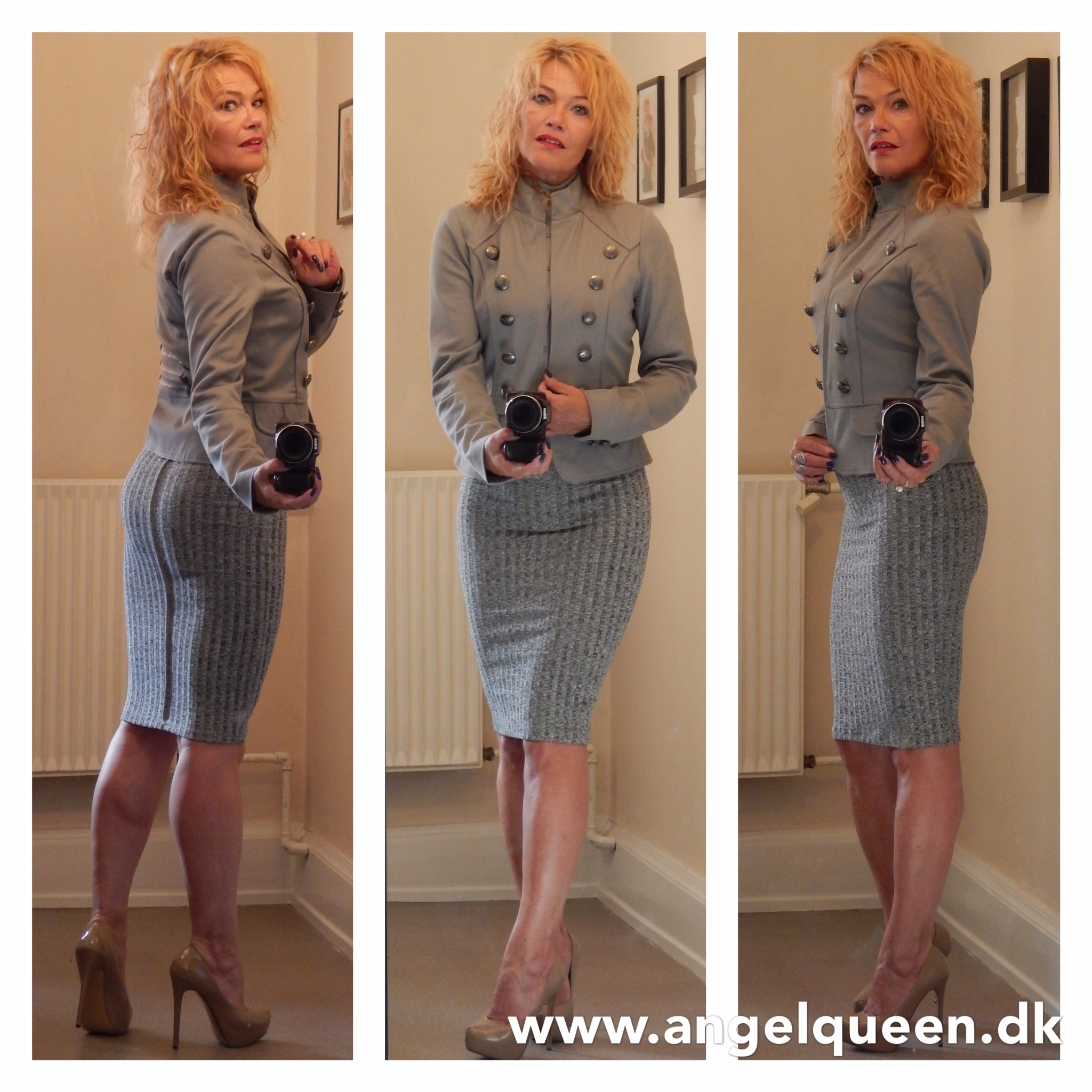 Grey in grey AngelQueen by Janie Behrensdorff