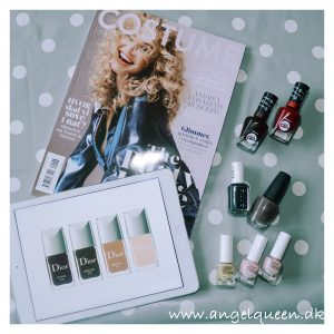 Updating the winter nail lacquers